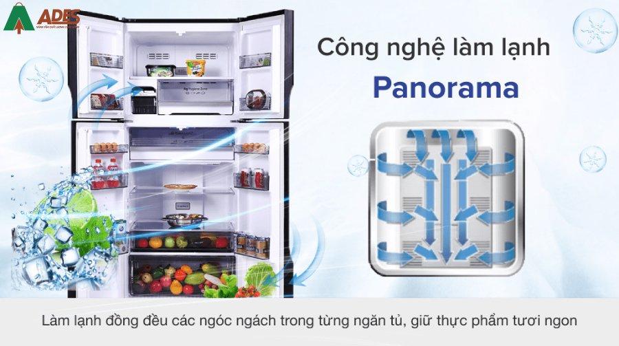 Panasonic NR DZ601VGKV Lam lanh deu cung cong nghe Panorama