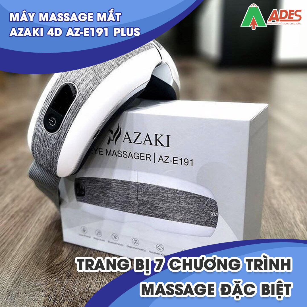 May Massage Azaki 4D AZ E191 Plus ti mi